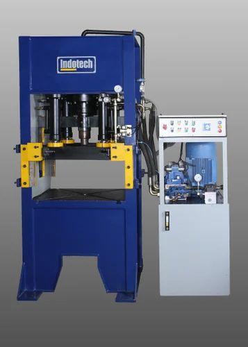 Deep Draw Hydraulic Presses - H Frame Deep Draw Hydraulic Presses Manufacturer from Rajkot