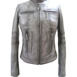 Lamb Smoky Leather Jacket