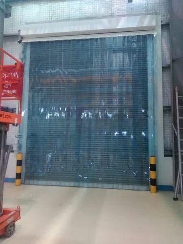 Transparent Soft Door Curtain