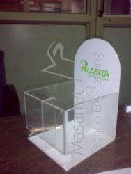 Acrylic Wet Tissue Holder