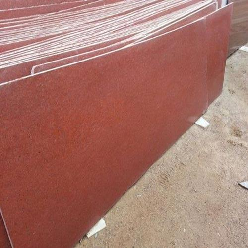 Slab Lanka Red Polished Granite, Thickness: 15-20 mm, Flooring
