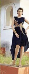 Classy Georgette Kurti