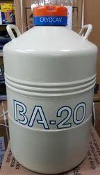 BA-20 LIQUID NITROGEN CONTAINER CRYOCAN