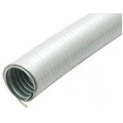 Liquid Tight Flexible Metal Conduit Lfmc Silver Liquid Tight Gi Flexible Conduit For Industrial Id 12580434633