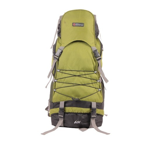 Bleu Olive Green Backpack Rucksack Bag