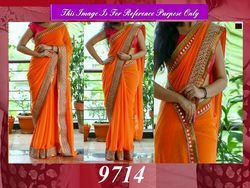 New Stylish Designer Party Wear Saree