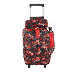 Red Wheeled Trolley Multipurpose Shopping Bag