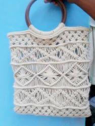 Natural Both Macramee Bags