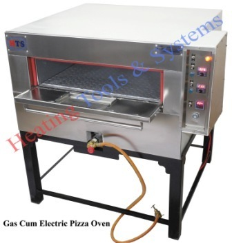 Gas cum electric pizza oven for commercial 4 x large pizza at rs gas cum electric pizza oven for commercial 4 x large pizza publicscrutiny Images
