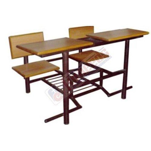 Wooden School Desk, Furneeds | ID: 12393695973