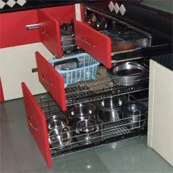 Modular Kitchen Trolley, रसोई की ट्राली - Jainrizvi ...