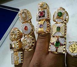 Men Gold Designer Ring