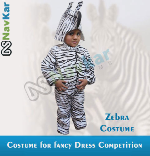 Zebra Costumes for Child Fancy Dress Competition  sc 1 st  IndiaMART : zebra costume child  - Germanpascual.Com