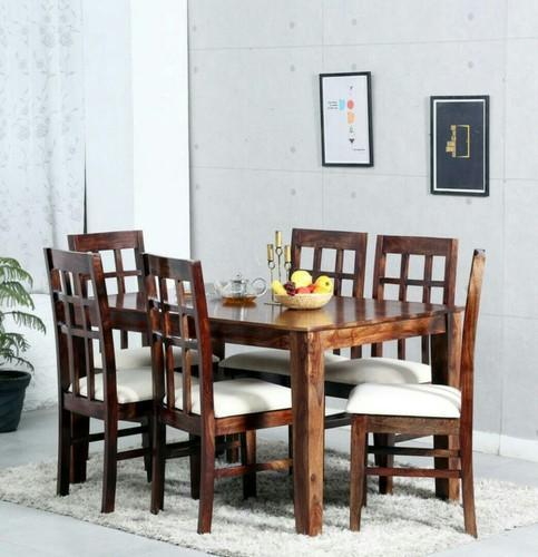 Dining Tables Shesam Solidwood Dining Set Manufacturer From Dombivli