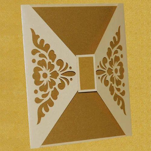 Saifee Wedding Cards Laser Design