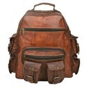 Genuine Leather Traveling Backpack BP103