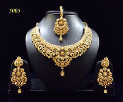 Designer Heavy Earrings Necklace Sets