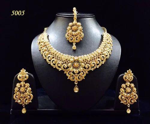 62e0a5b62647c Designer Heavy Earrings Necklace Sets