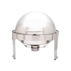 Roll Top Round Chafing Dishes