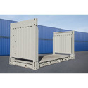 20' Flat Rack Shipping Container