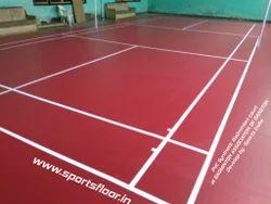 Badminton Court Flooring In India