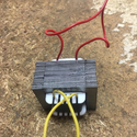 Small Single Phase Electrical Transformer