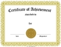 Certificate Template Offset Printing Service