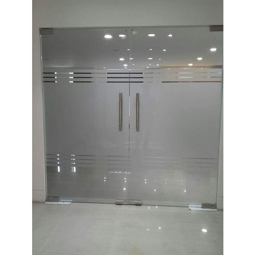 Toughened glass door partition at rs 150 square feet glass toughened glass door partition planetlyrics Image collections