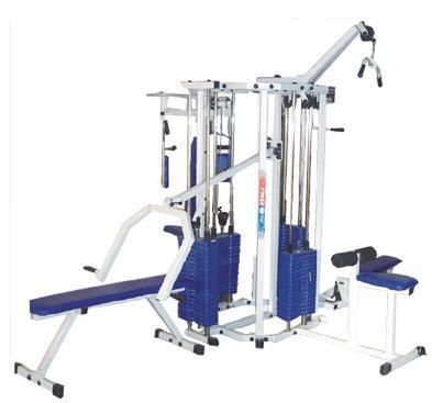 Lifeline 4 Station Home Gym With 4 Weight Stacks