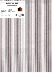 Yarn Dyed Stripe Fabric FM000097