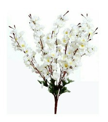 Hyperboles Artificial Blossom White Colour Flower