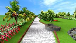 3D Garden Designing, For Construction, Coverage Area: <1000 Square Feet