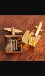 Shirts Brass Cufflinks Customize