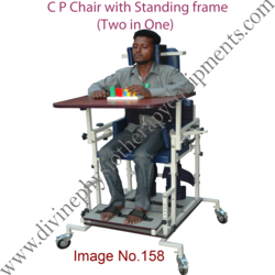 Cerebral  Palsy  Chair with Standing Frame