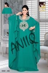 Crystal Silver Design Jalabiya Farasha 497