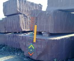Chocolate Sandstone Blocks