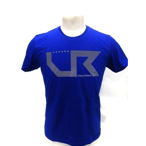 Blue Round Neck Mens Hosiery T-Shirts, Packaging Type: Packet