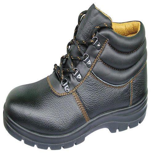 63e0ef58d74 Black Industrial Safety Shoes