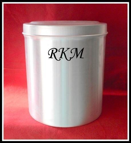 Aluminum Round Storage Container Aluminum Containers Radhe