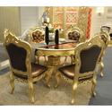 Gold Mounted Dining Table