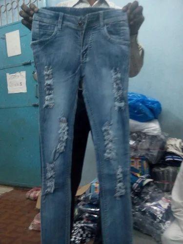 02fa00d615869b Girls Damage Jeans, गर्ल्स डॅमेज जीन्स - View ...
