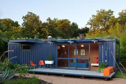 Corrugated Steel MS Container Homes, Thickness: 50mm, Rs 200000 ...