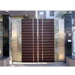 Stainless Steel Double Door Gates