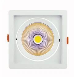 Midas 'Trans' LED COB Spotlight-20W- Adjustable Square Shape