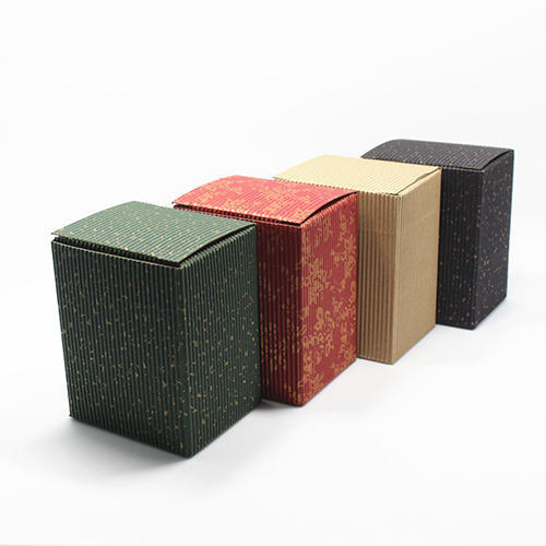 Multi Colored Corrugated Boxes