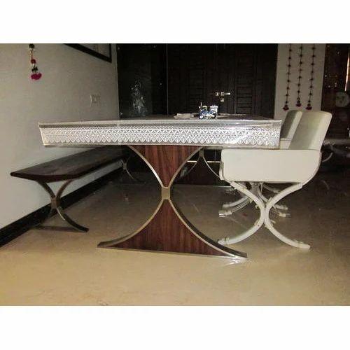 Dining Table खाना खाने की मेज At Rs 5000 Set