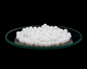 Spherical Pearl White Yttrium Stabilized Zirconium Oxide Beads -ytzp Beads, Size: 0.1-10 Mm. Available