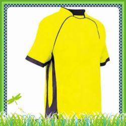 Summer Yellow School Plain Sport T-Shirt