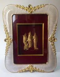 Ram Darbar Gold Leaf Frame