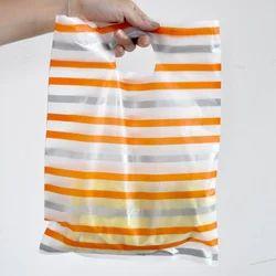 Printed D Cut Plastic Shopping Bag